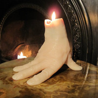 Hammer Horror 'Thing' Hand Candle cast from a real by JohnnyBWilde