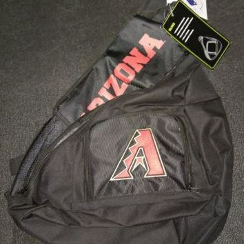 MLB Arizona Diamondbacks AZ Dbacks Baseball Sling Style Pack Backpack NEW