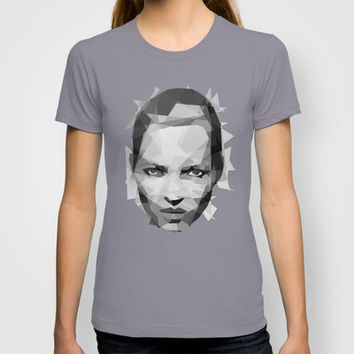 Kate Moss - III T-shirt by Three of the Possessed | Society6