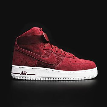 qiyif NIKE - Men - Air Force 1 High - Red/White