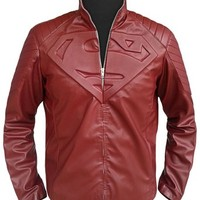 Celebsfit Men's Superhero Leather Jacket ►Super Saver Deal◄