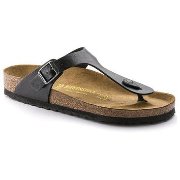 Birkenstock Gizeh Birko Flor Graceful Licorice 541951 Sandals - Best Deal Online