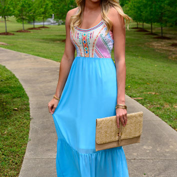 Better Together Maxi, Sky Blue