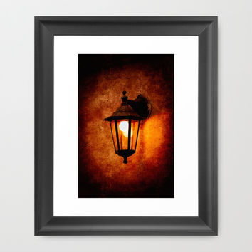 The Age Of Electricity Framed Art Print by Digital2real