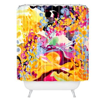 Stephanie Corfee Sing Shower Curtain