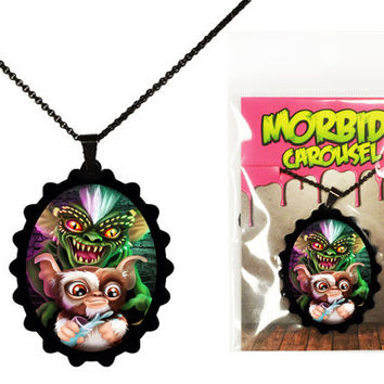 Gremlins Gizmo & Spike Necklace