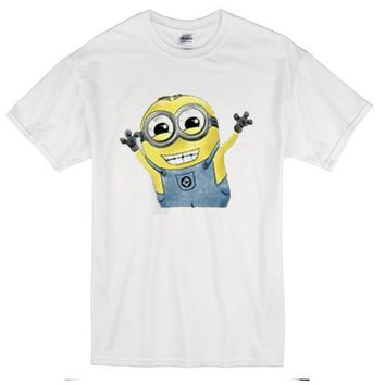 Minion Funny Custom Men's Gildan Adult T-Shirt