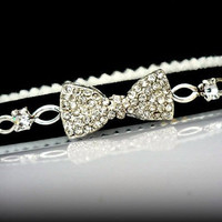 Crystal collar for cats