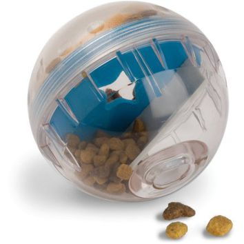 "Pet Zone Interactive IQ Treat Ball 4"" Dog Toy - Walmart.com"