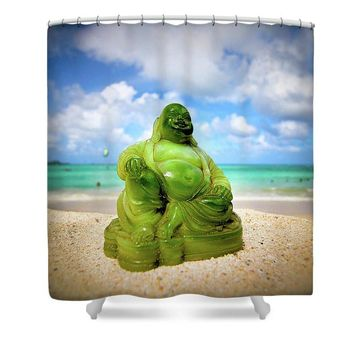 The Buddha  - Shower Curtain