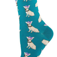 Socksmith Chihuahua Emerald Socks