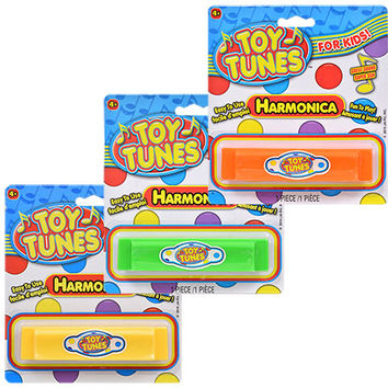 Bulk Toy Tunes Plastic Harmonicas at DollarTree.com