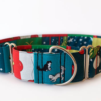 Goodnight Moon 2 Inch Martingale Collar