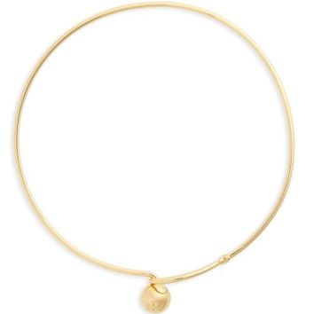 Tory Burch Logo Loop Collar Necklace | Nordstrom