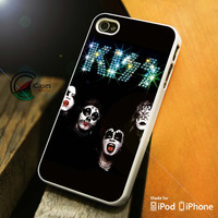 Kiss Band iPhone 4 5 5c 6 Plus Case, Samsung Galaxy S3 S4 S5 Note 3 4 Case, iPod 4 5 Case, HtC One M7 M8 and Nexus Case