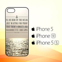 Mayday Parade Quotes X0107  iPhone 5|5S|SE Case