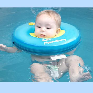 Mambobaby no need inflatable baby Gear Swimming Pool Accessories swim neck ring baby Tube Ring Safety infantfloat circle bathing