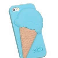 Ice Cream Pattern Phone Case For iPhone 5/5S,4,4S Color Blue