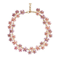 Vintage Christian Dior Floral Necklace