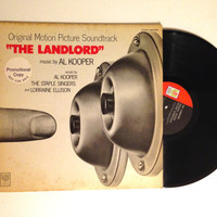 OCTOBER SALE Rare LP The Landlord Original Motion Picture Soundtrack Al Cooper Vinyl Record Album 1971 Psychedelic Rock Electronic