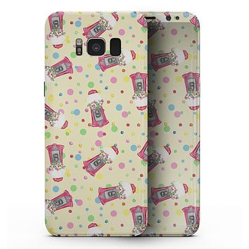 The Fun Colorful Gumball Machine Pattern - Samsung Galaxy S8 Full-Body Skin Kit