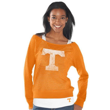 Tennessee Volunteers Womens Holy Long Sleeve T-Shirt and Tank - Tennessee Orange