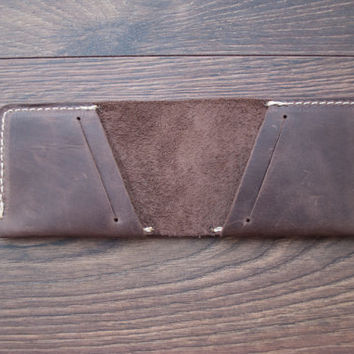 Leather Credit Card Holder, Leather Credit Card Wallet, Original Treasure Chest Wallet, Groomsmen Bridesmaids Gifts, credit card case