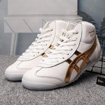 ASICS Woman Men Fashion High-Top Flats Sneakers Sport Shoes