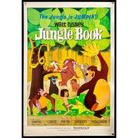 Pre-owned Walt Disney The Jungle Book Film Poster