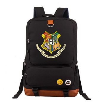 Student Backpack Children Harry Potter School Bags Book Backpacks Children Bag Fashion Shoulder Bag Students Backpack Travel Bag for teenagers mochila AT_49_3