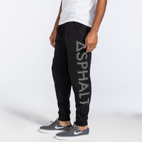 Asphalt Yacht Club Reflex Mens Jogger Pants Black  In Sizes