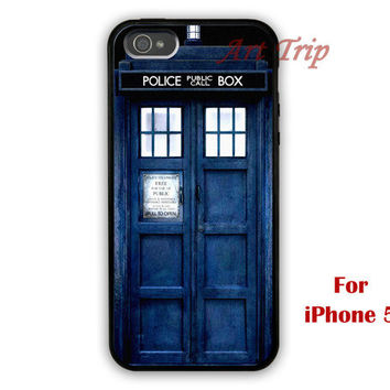 iPhone 5 Case -- Dr Who Tardis iphone case, iphone case, graphic iphone 5 case