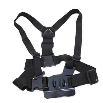 Harness Adjustable Elastic Shoulder Chest Strap Accessories for GoPro Hero 4 3 3+ 2 SJ4000 SJ5000 Xiao yi Sport Action Cameras
