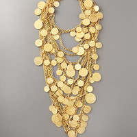 Robert Rodriguez - Multi-Strand Coin Necklace - Bergdorf Goodman