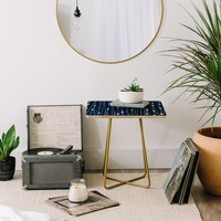 Heather Dutton Navy Entangled Side Table