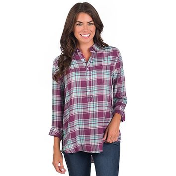 Taylor Tunic Popover in Nashville by The Southern Shirt Co.