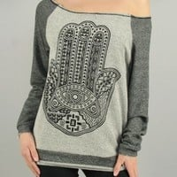 Hamsa Sweater from lovesparkleandco