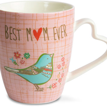 Best Mom Ever Cup with Matching Gift Box