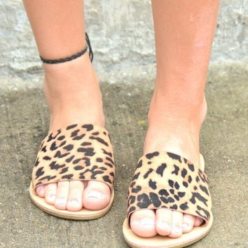 Rumor Has It Sandals - Leopard
