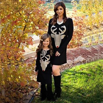 Christmas Mother Daughter Dresses