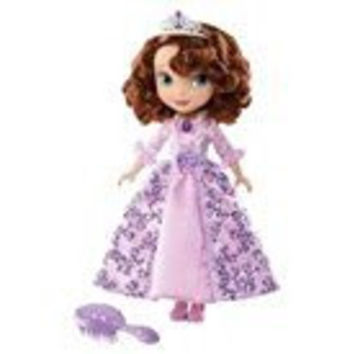 Disney Sofia the First Flower Girl Doll - 10""