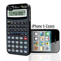 Black Calculator - Math - iPhone 5 Case