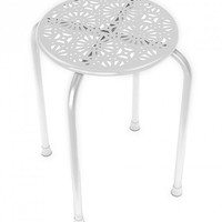 DAR Daisy Stackable Metal Stool