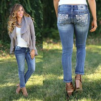 Opposing Tribes Skinny Jeans - Miss Me