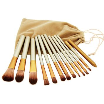 Brand new makeup brushes,12 Pcs Brush kit Sets for eyeshadow blusher Cosmetic Brushes Tool