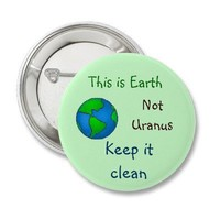 Earth button from Zazzle.com