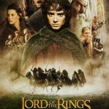 The Lotr Fellowship Movie Poster Standup 4inx6in