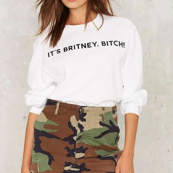 Private Party Britney Bitch Sweater