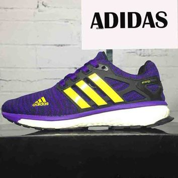 Adidas classic popcorn men and women trend sports shoes F-CSXY purple