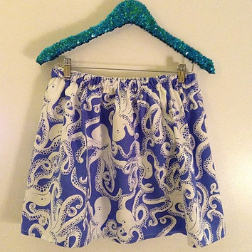 Lilly Pulitzer Iris Blue Bubbly RESORT Skirt